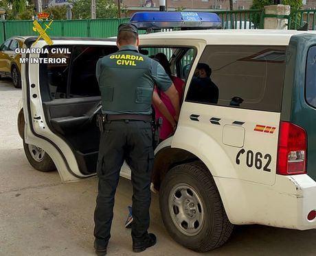 La Guardia Civil investiga a una persona por cuatro robos con fuerza