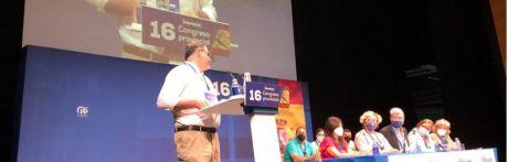 Benjamín Prieto afronta el tercer mandato del PP de Cuenca con el 96 % de los votos