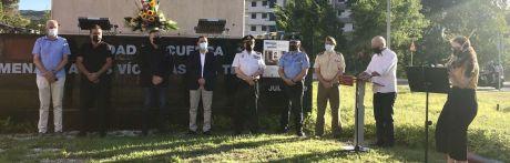 La capital recuerda a las víctimas del terrorismo en el aniversario del asesinato de Miguel Ángel Blanco
