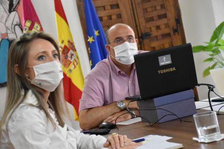 Castilla-La Mancha, Aragón y Castilla y León avanzan en la solicitud al Gobierno central para implantar ayudas a empresas en Teruel, Cuenca y Soria