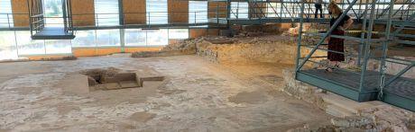 Villar de Domingo García dará de baja la luz del yacimiento romano de Noheda al no poder asumir los costes