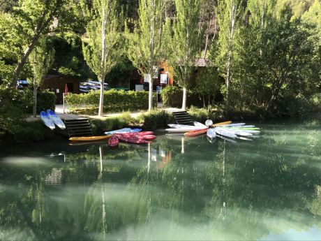 Arranca un curso de iniciación al piragüismo en aguas tranquilas para adultos