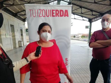 La diputada Roser Maestro se compromete en Cuenca a defender el ferrocarril a Madrid y Valencia