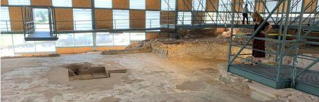 La villa romana de Noheda ha recibido más de 12.000 visitas en el último año