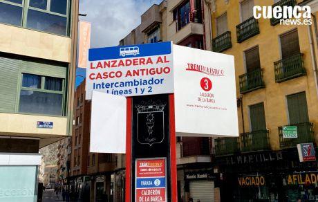 Ciudadanos solicita al pleno el cambio de ubicación de la parada de las lanzaderas al Casco Antiguo