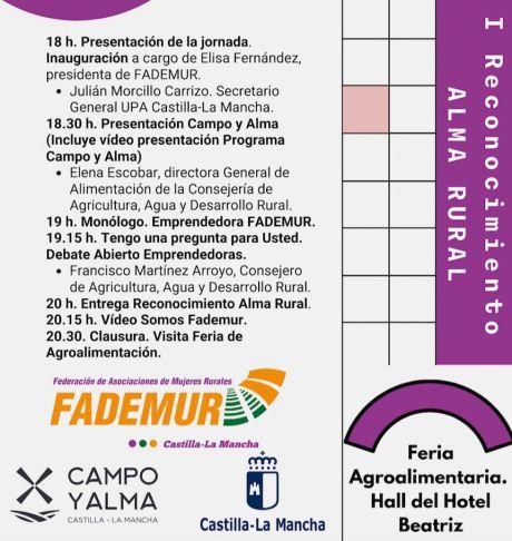 Fademur premiará a Rozalén y a Carmen Calvo en el Día de las Mujeres Rurales