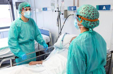 Castilla-La Mancha registra el menor número de pacientes COVID en UCI de los últimos tres meses