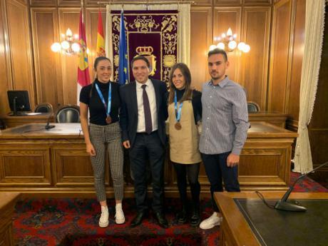 La Diputación apoyará con 35.000 euros la carrera deportiva de un total de 39 chicos y chicas de la provincia