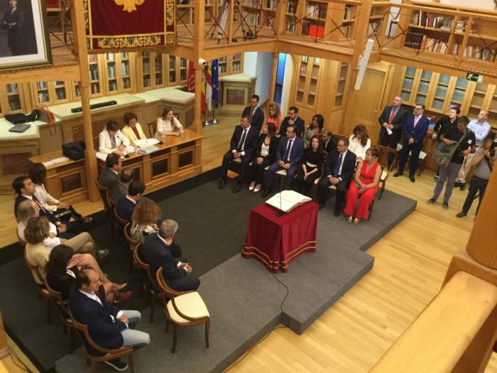 Así ha sido el Pleno de Constitución del Ayuntamiento de Cuenca
