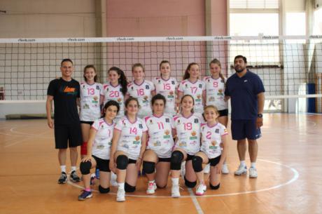 Las infantiles de Iniesta, octavas en el campeonato nacional de voleibol