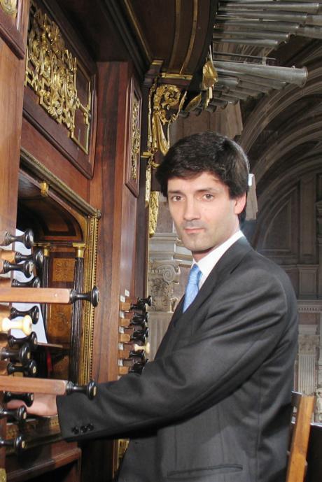 El organista portugués Rui Paiva, protagonizará el quinto concierto de la Academia 'Julián de la Orden'