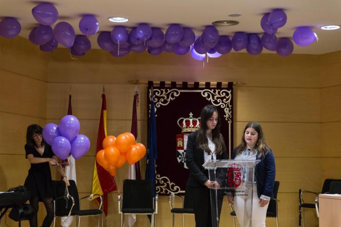 El campus universitario protagonizan el acto contra la Violencia de Género de la Subdelegación del Gobierno y el Vicerrectorado
