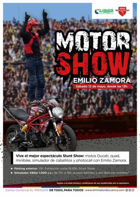 El Mirador acoge el Motor Show de Emilio Zamora