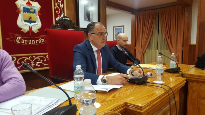 López Carrizo comunica al pleno la liquidación de la empresa municipal TAINSA