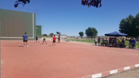 Gran nivel en la sexta jornada del Circuito Diputación de Cuenca de Frontenis con 4 torneos disputados