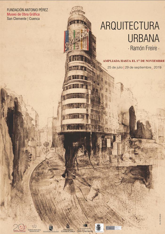 Prorrogada la exposición 'Arquitectura Urbana' de Ramón Freire en San Clemente