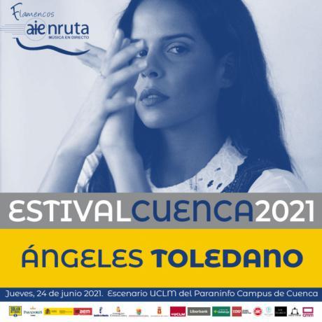 Ángeles Toledano y al son de la rumba protagonizarán la velada del jueves 24 de junio en el paraninfo del campus