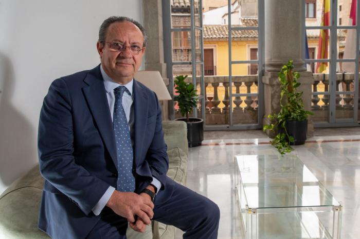 Juan Alfonso Ruiz Molina, consejero de Hacienda y Administraciones Públicas