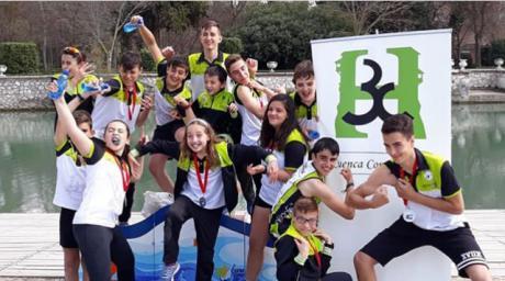El Cuenca con Carácter finaliza 4º por clubes en la clasificación de Jóvenes Promesas celebrado en Aranjuez.