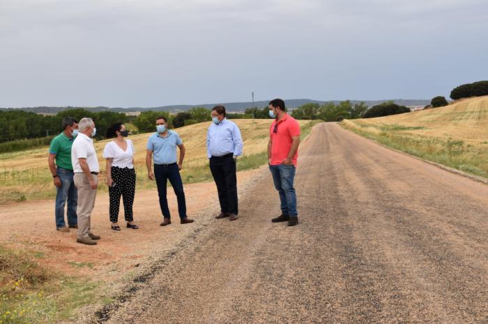 Se recepciona el camino que une Arcas y Mohorte que ha contado con una inversión de 204.000 euros