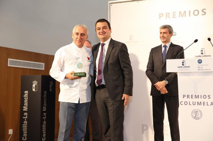 La Fundación Dieta Mediterránea entrega mañana sus premios 'Columela' a Martín Bahamontes, Pepe Rodríguez y Juan Ramón Amores