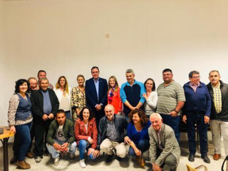 """El PP presenta en Iniesta a un """"equipo ganador, que trabajará escuchando a los vecinos y por el futuro de nuestro pueblo"""""""