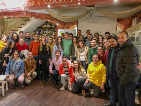 Catalá muestra el compromiso del PP y de Pablo Casado con las nuevas generaciones en aras de facilitar la creación de empleo