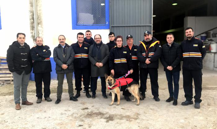 Se dota de nuevo material de emergencias a la Agrupación de Protección Civil de Horcajo de Santiago