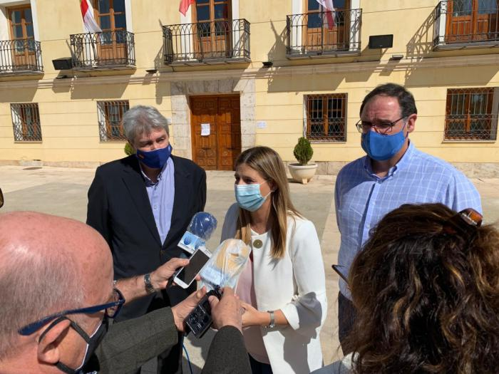 Agudo denuncia en Tarancón que Page justifique la decisión de Sánchez de 'indultar a los golpistas'