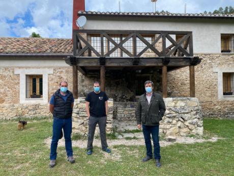 El albergue de Tejadillos estrena sistema de abastecimiento de agua