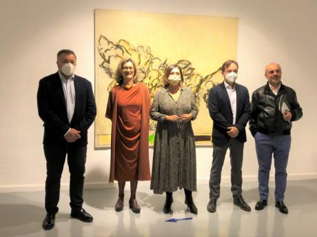 La Casa Zavala acoge la primera exposición póstuma de Alberto Corazón, en la que se muestra su trabajo pictórico