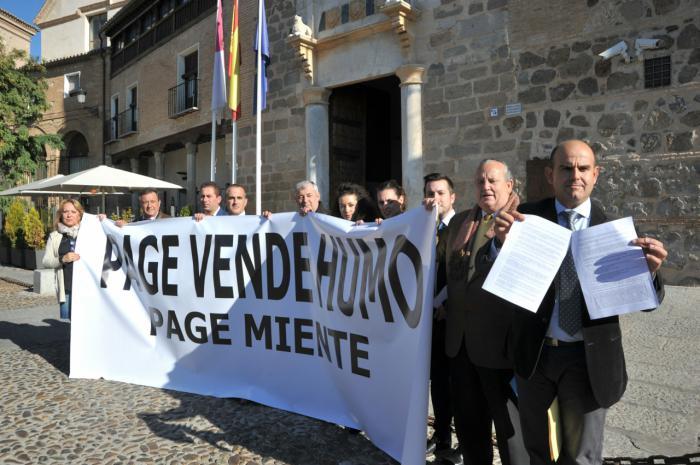 Alcaldes de Castilla-La Mancha del PP denuncian un trato discriminatorio y sectario de Page con las zonas prioritarias para salvar su sillón