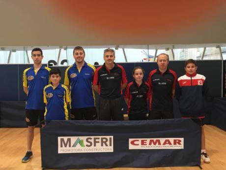 El Club Tenis de Mesa Cuenca cae 2-4 en Alcázar de San Juan