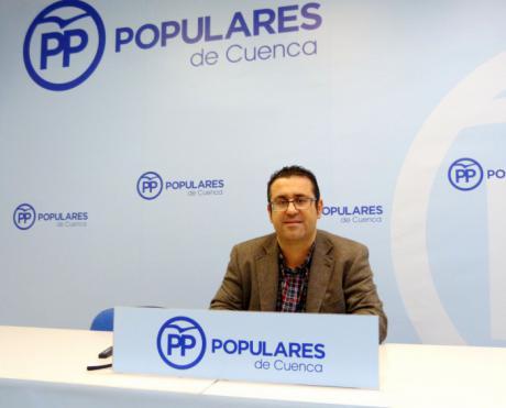 """Algaba: """"Pedimos a Page y a Sánchez un compromiso firme para que los 145 millones de euros del ATC se destinen íntegramente a la provincia de Cuenca"""""""