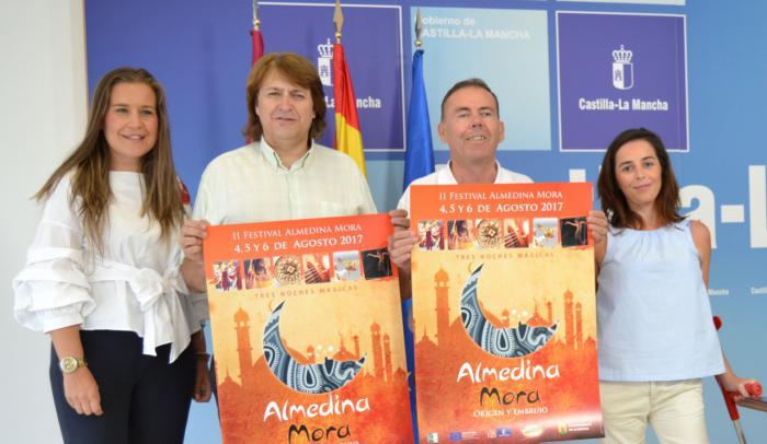 Castilla-La Mancha respalda la singularidad del festival 'Almedina Mora' y su implicación turística y cultural en el Campo de Montiel