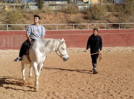 La hípica vuelve a marcar el inicio de las actividades para jóvenes de entre 16 y 18 años del programa 'Somos Deporte'