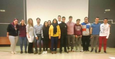 Martínez recibe a los alumnos del programa Cuenca Plus IV y V que realizan prácticas en países europeos