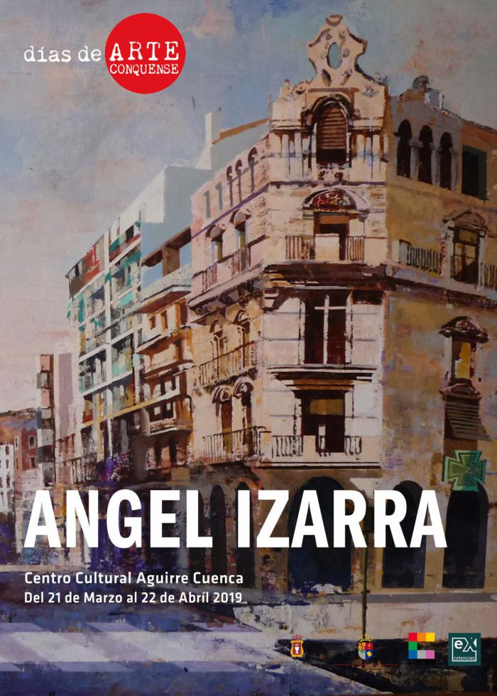 "La obra pictórica de Ángel Izarra llega a ""días de ARTE Conquense"""