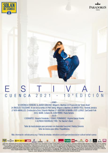 Simbolismo, recuerdo y patrimonio contemporáneo en el cartel de Estival Cuenca 21