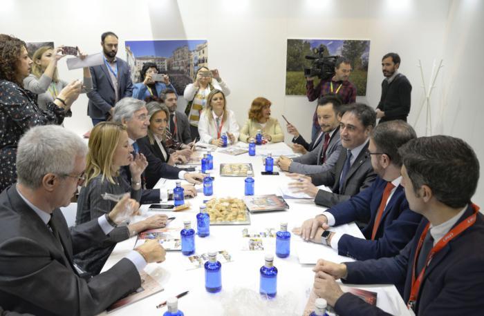 Cuenca y el Grupo de Ciudades Patrimonio presentan en FITUR una potente oferta cultural y turística