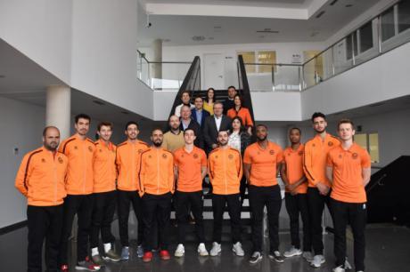 La Diputación apoyará y colaborará al Basket Quintanar en sus aspiraciones de ascenso a LEB Plata