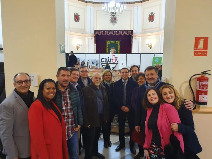 Diputación acoge la inauguración del Belén-Maqueta de la ciudad realizado por 'El Crisol'