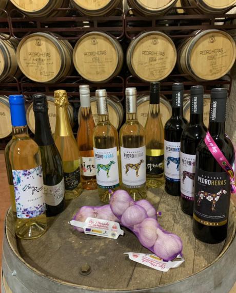 Los premiados vinos de Bodegas Pedroheras, aliados del Ajo Morado de Las Pedroñeras