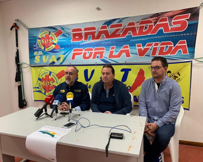 Más de 300 nadadores se darán cita en Tarancón en la III edición de ´Brazadas por la vida´ a beneficio de la lucha contra la ELA