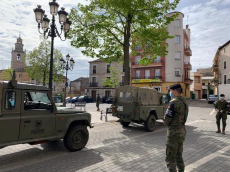 Tarancón recibe hoy a militares de la Brigada Paracaidista para tareas de vigilancia y control