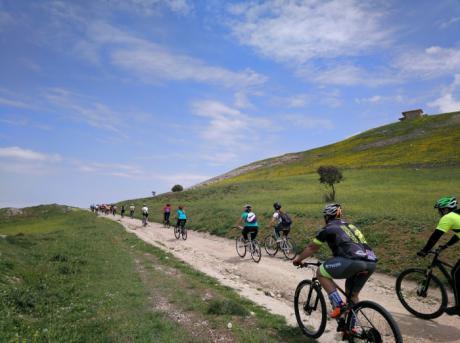 Por el territorio romano en Bicicleta Todo Terreno