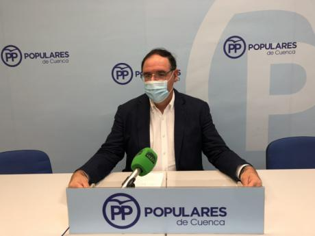 """Prieto critica que """"la constelación de los gobiernos socialistas no haya repercutido en nada en el desarrollo de Cuenca"""""""