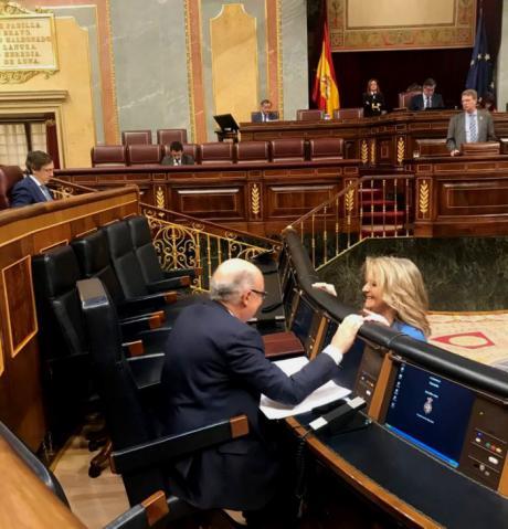 Bonilla pide a Sahuquillo que piense en los 35.805 pensionistas de Cuenca que se beneficiarán de las nuevas subidas anunciadas por Rajoy y apoye los Presupuestos
