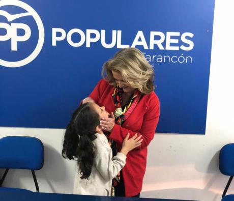Bonilla pide el voto para Pablo Casado y recuerda que el Partido Popular es el único que garantiza el apoyo a las familias