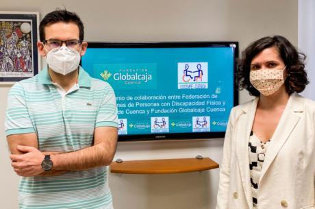 Convenio de colaboración entre COCEMFE y la Fundación Globalcaja Cuenca